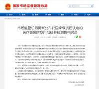 中国市场监督总局!63家口罩等医疗器械防